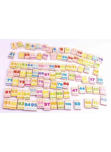 Ahşap İngilizce-Matematik Domino Seti-Learning Toys